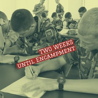 Two weeks until Encampment